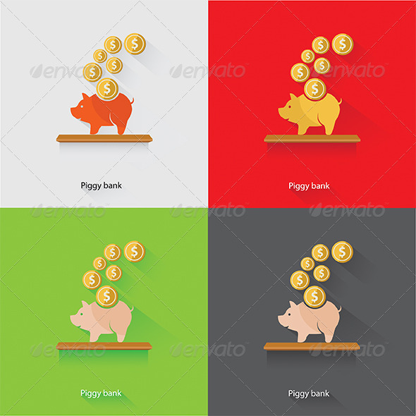 GraphicRiver Piggy Bank 7846731