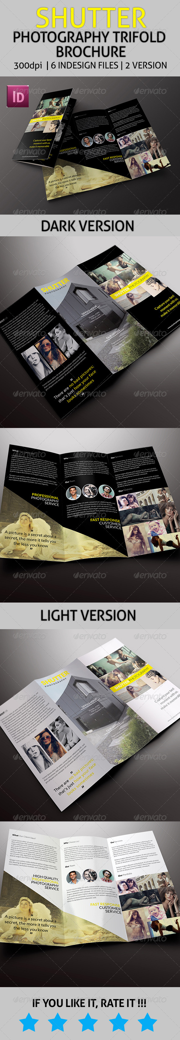 GraphicRiver Shutter Photography Trifold Brochure 7846761
