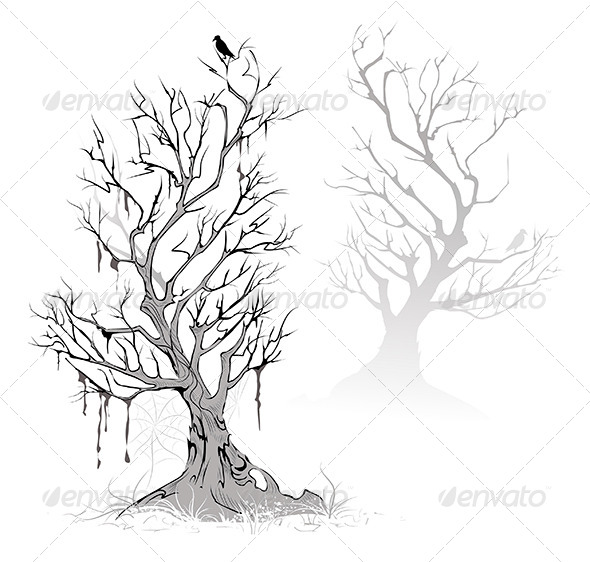 GraphicRiver Dead Trees 7846888