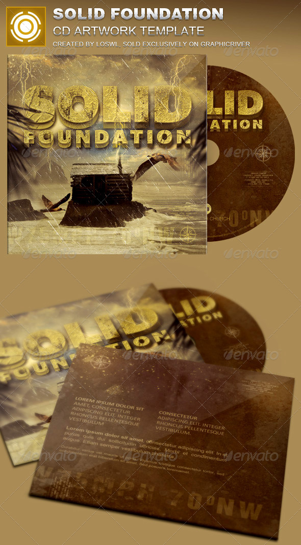 GraphicRiver Solid Foundation CD Artwork Template 7848234