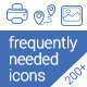 Frequently Needed Icons - GraphicRiver Item for Sale