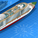 Isometric Cruise Ship in Rear View - GraphicRiver Item for Sale