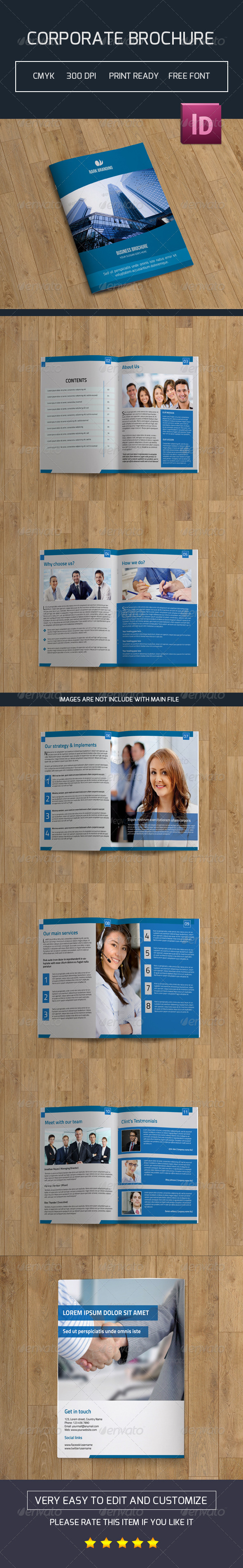 GraphicRiver Bifold Business Brochure-V22 7849167