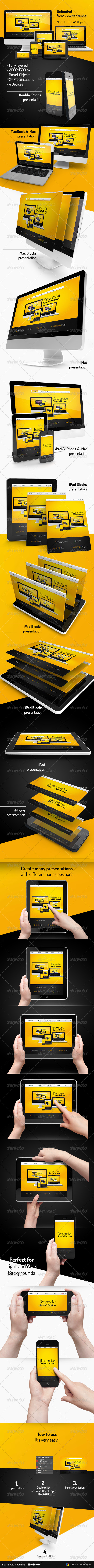 GraphicRiver Responsive Screen Mock-up 7849742