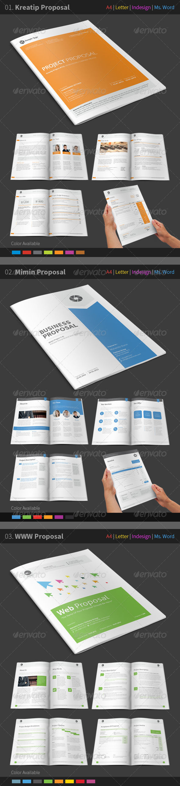 GraphicRiver Proposal Bundle 7851072