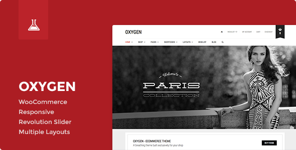 ThemeForest Oxygen WooCommerce WordPress Theme 7851484