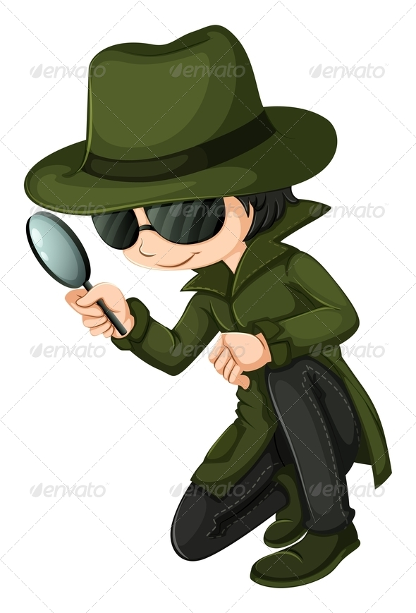 GraphicRiver A smart young detective 7851824