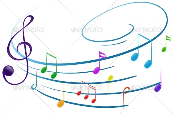 GraphicRiver Musical Notes 7852564