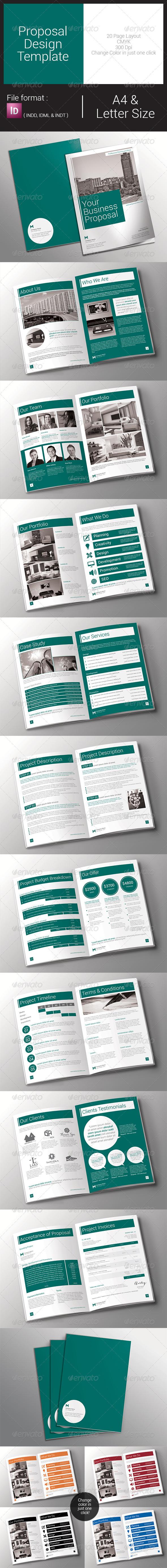 GraphicRiver Proposal Design Template 7852770