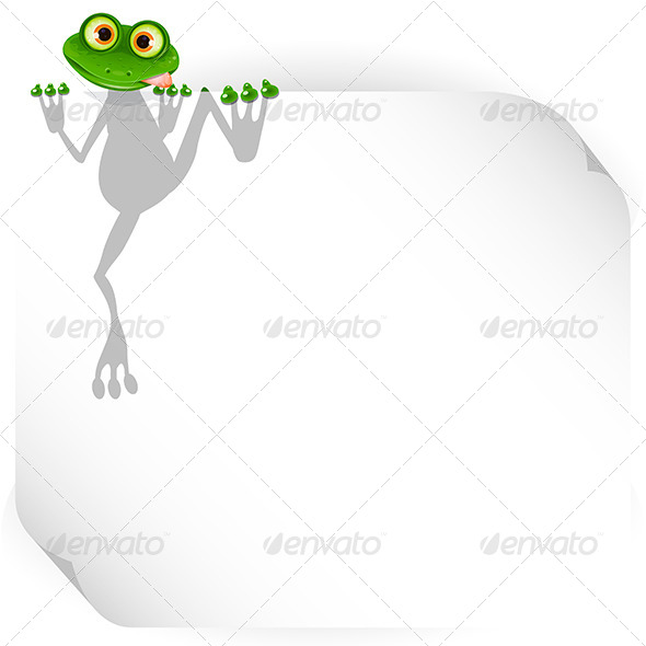 GraphicRiver Frog and White Background 7852943