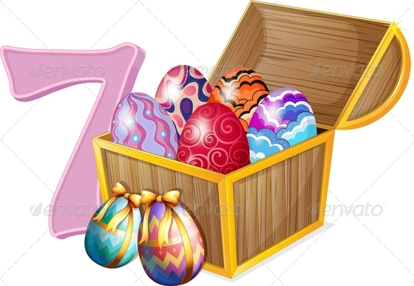 GraphicRiver Seven Easter Eggs 7853630