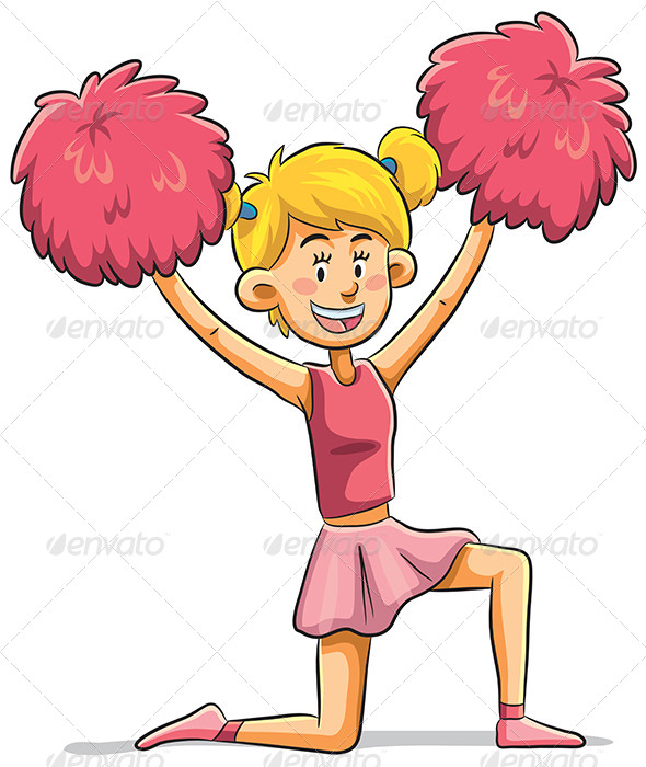 GraphicRiver Cheerleader 7853652