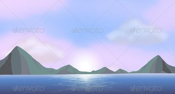 GraphicRiver Ocean View 7853687