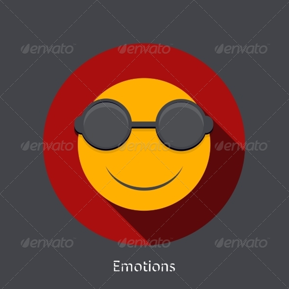 GraphicRiver Emotion Flat Icon 7855100