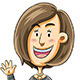 Woman Greeting - GraphicRiver Item for Sale