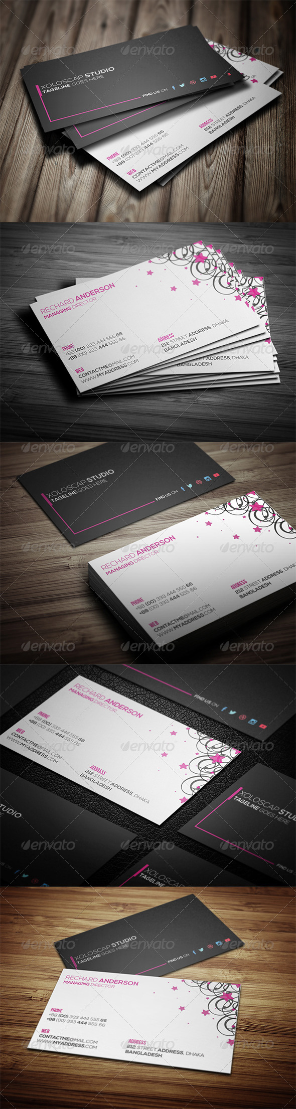 GraphicRiver Corporate Business Card 7856662