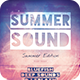 Summer Sound Flyer - GraphicRiver Item for Sale