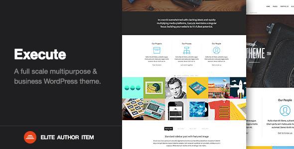 ThemeForest Execute Creative Multi-Purpose WordPress Theme 7856988