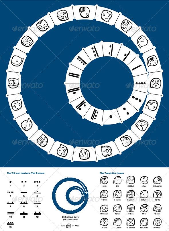 GraphicRiver Tzolkin Maya Calendar 7857905