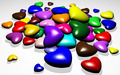 3D Hearts Colors Candies - PhotoDune Item for Sale
