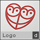 Owlove - Owl & Heart Logo - GraphicRiver Item for Sale