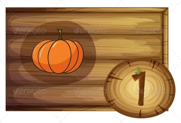 GraphicRiver Wooden frame with a vegetable 7860219
