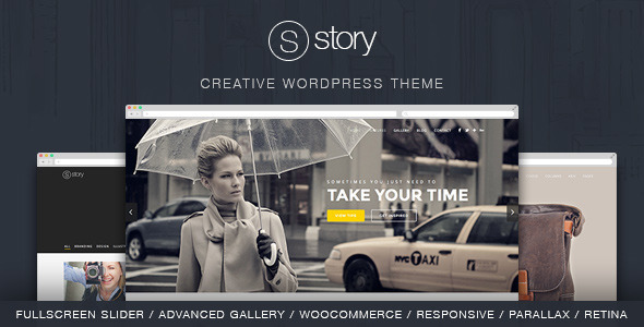 ThemeForest Story Creative Responsive Multi-Purpose Theme 7824993