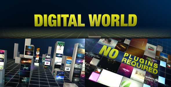 After Effects Project - VideoHive Digital World 803480