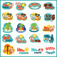 Beach Icon Set - GraphicRiver Item for Sale