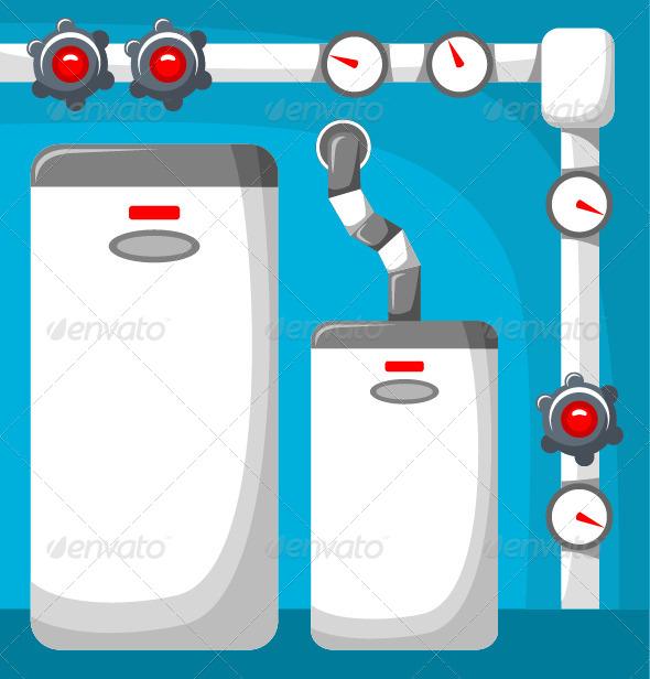GraphicRiver Boiler Room 7860586