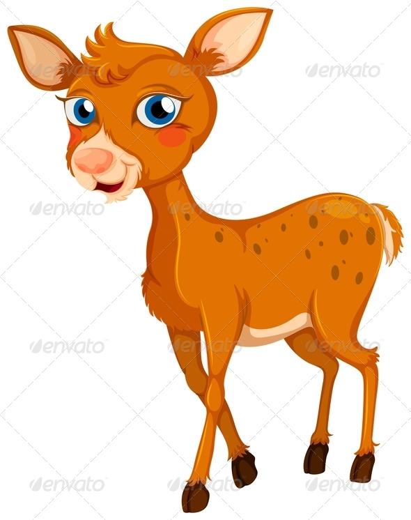 GraphicRiver Little deer 7860687