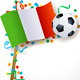 Italian Signboard Soccer Theme - GraphicRiver Item for Sale