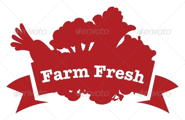 GraphicRiver Farm fresh label 7862915
