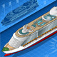 Isometric Cruise Ship in Front View - GraphicRiver Item for Sale
