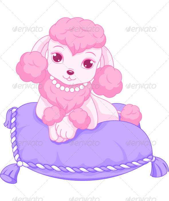 GraphicRiver Pink Poodle 7863677