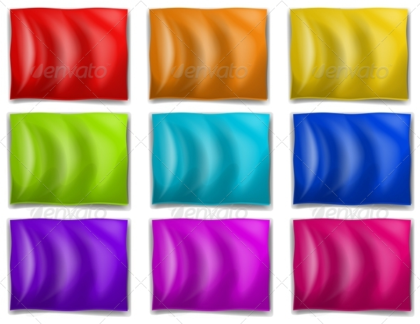 GraphicRiver Colourful flags 7863741