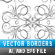 Border Set Template 01 - GraphicRiver Item for Sale