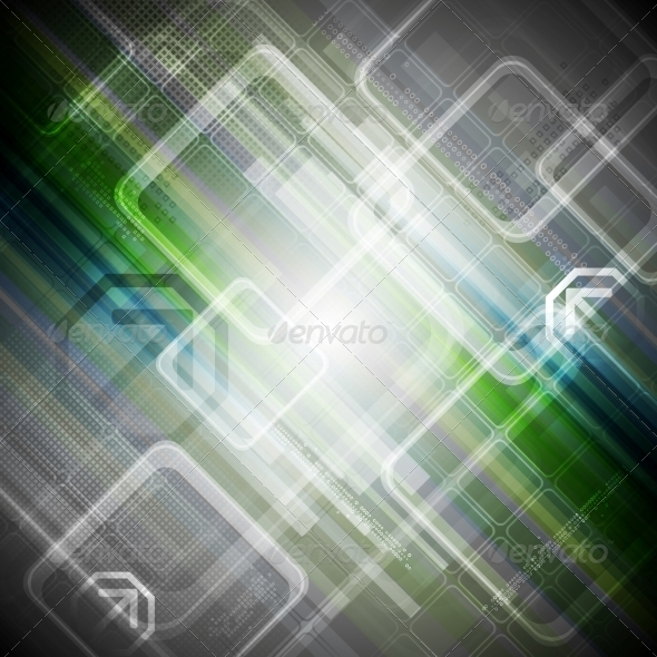 GraphicRiver Abstract Hi-Tech Background 7864657