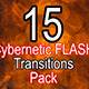 Cybernetic Fast Transitions - VideoHive Item for Sale