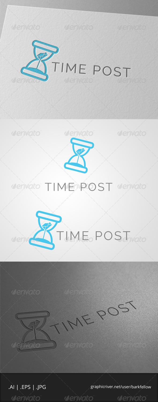 GraphicRiver Time Post Logo 7865362