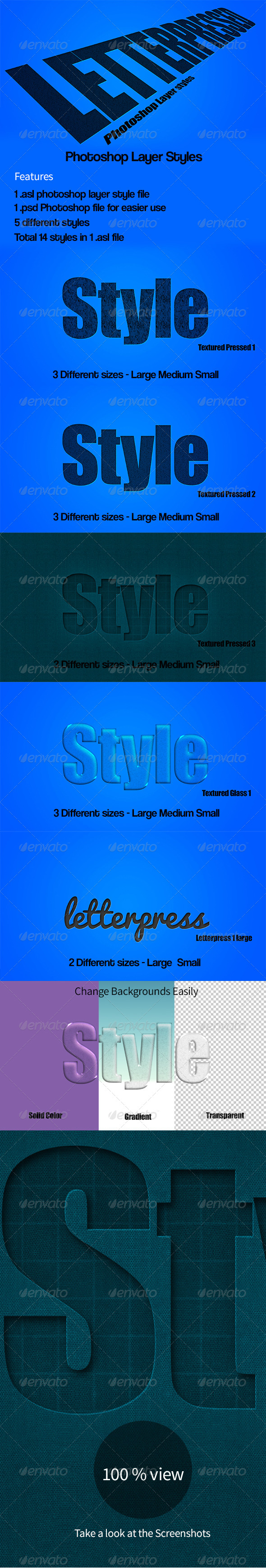 GraphicRiver Letterpressed Photoshop Style NG 7865481