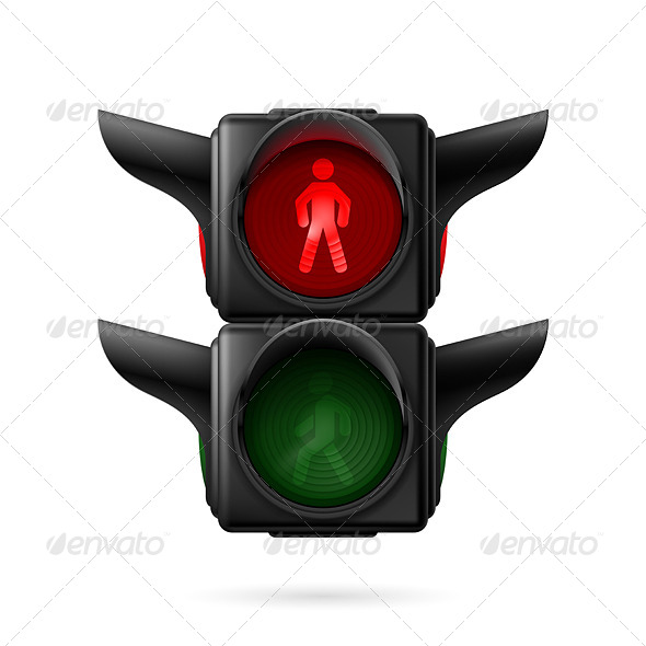 GraphicRiver Pedestrian Traffic Light 7867355