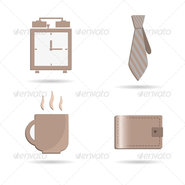 GraphicRiver Set of Business Icons 7867743