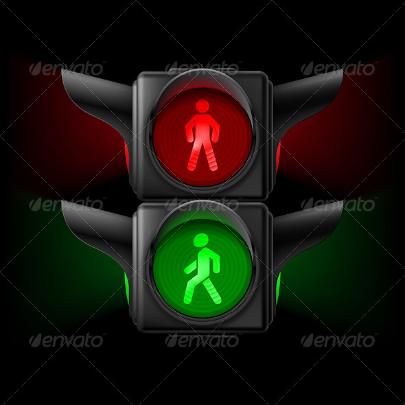 GraphicRiver Pedestrian Traffic Light 7867996