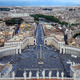 View from the San Pietro Basilica in Vatican - PhotoDune Item for Sale
