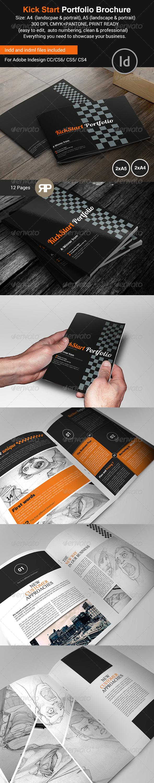 GraphicRiver New Way Portfolio Brochure Bundle 7819674