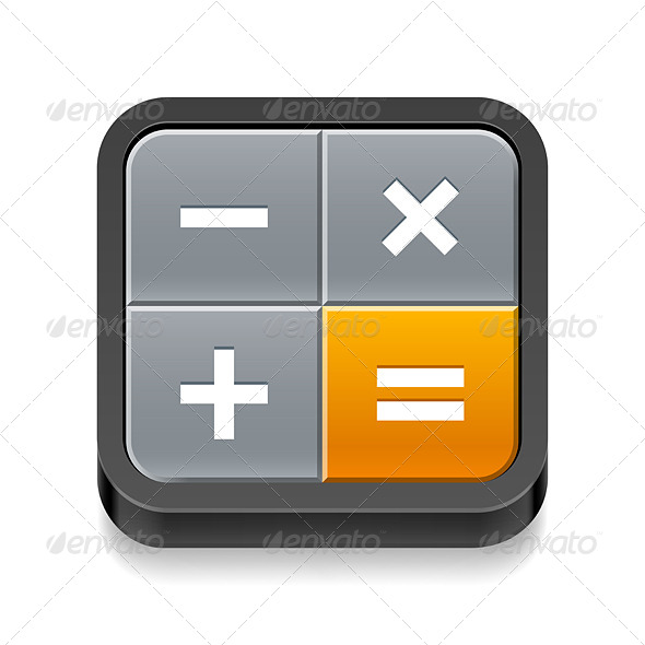 GraphicRiver Calculator Icon 7869558