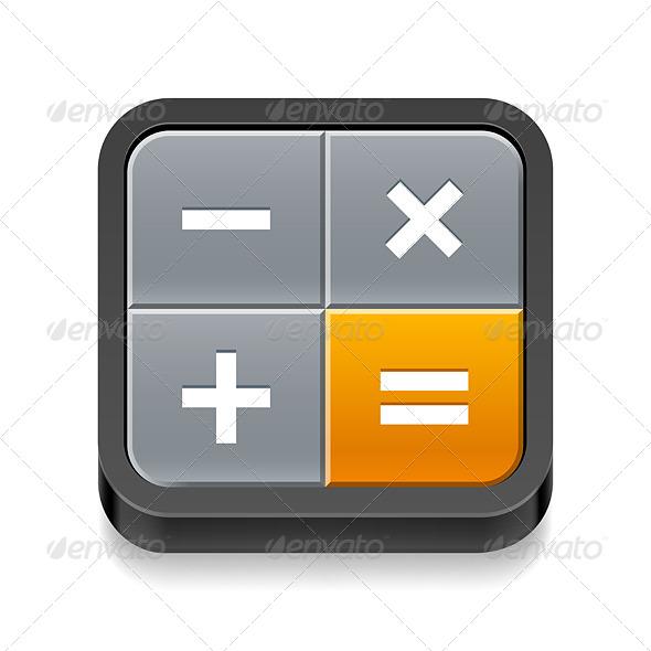 GraphicRiver Calculator Icon 7869558