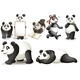 Seven Pandas - GraphicRiver Item for Sale