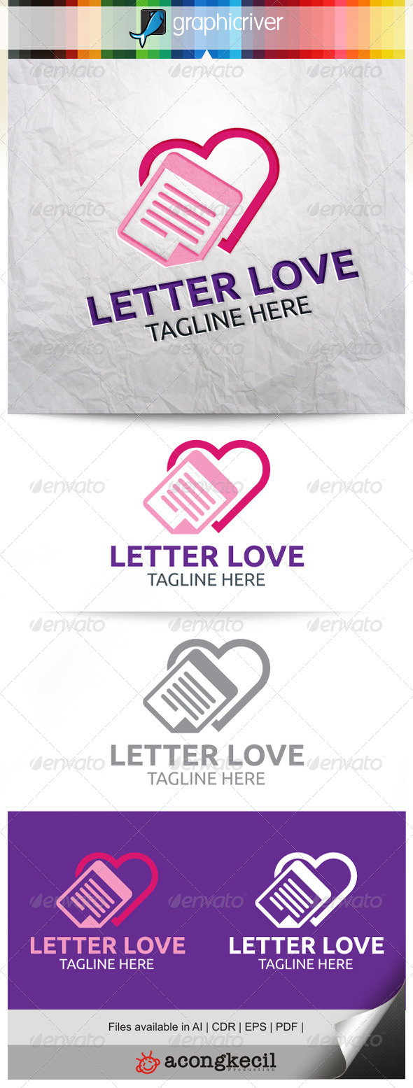 GraphicRiver Letter Love 7851266
